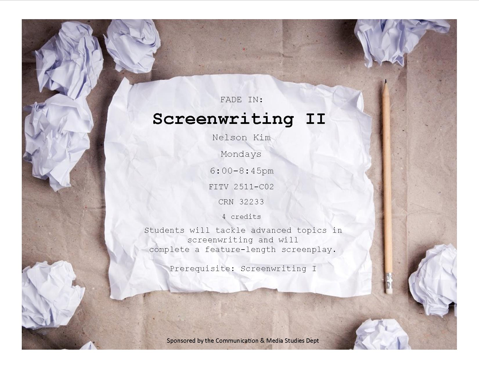 screenwritingiiflyer